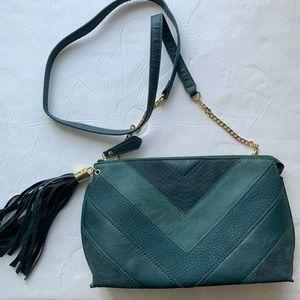Dark green dressy purse